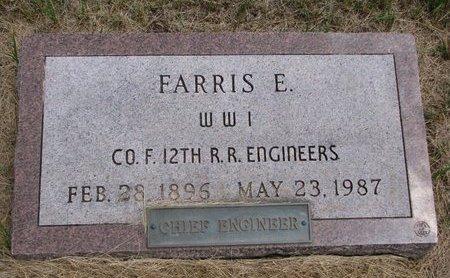 MEREDITH, FARRIS E. - Turner County, South Dakota | FARRIS E. MEREDITH - South Dakota Gravestone Photos