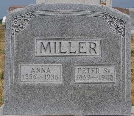 MILLER, ANNA - Turner County, South Dakota | ANNA MILLER - South Dakota Gravestone Photos