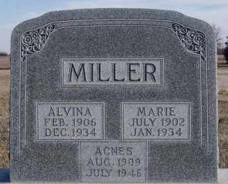MILLER, ALVINA - Turner County, South Dakota | ALVINA MILLER - South Dakota Gravestone Photos