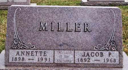 MILLER, ANNETTE - Turner County, South Dakota   ANNETTE MILLER - South Dakota Gravestone Photos