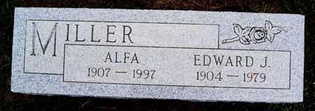 MILLER, ALFA - Turner County, South Dakota | ALFA MILLER - South Dakota Gravestone Photos