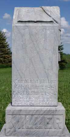 MILLER, CAROLINA - Turner County, South Dakota | CAROLINA MILLER - South Dakota Gravestone Photos