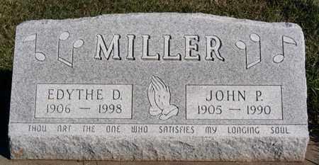 MILLER, JOHN P - Turner County, South Dakota   JOHN P MILLER - South Dakota Gravestone Photos