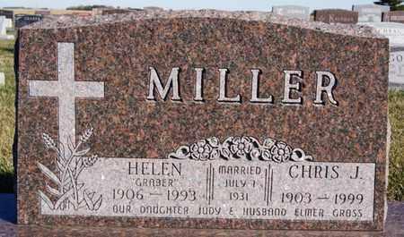 MILLER, HELEN - Turner County, South Dakota | HELEN MILLER - South Dakota Gravestone Photos