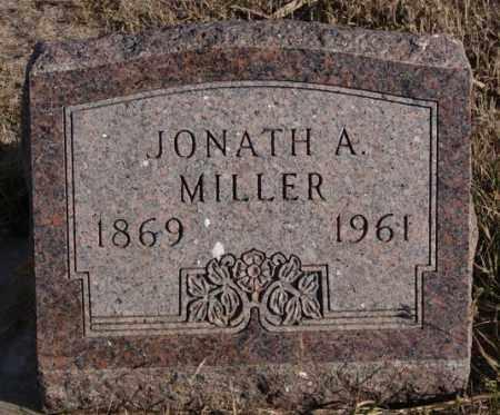 MILLER, JONATH A - Turner County, South Dakota   JONATH A MILLER - South Dakota Gravestone Photos