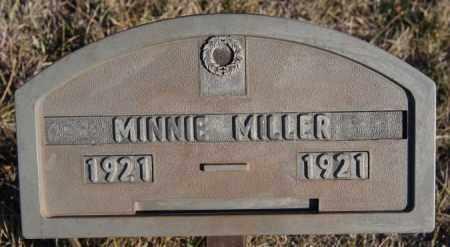MILLER, MINNIE - Turner County, South Dakota | MINNIE MILLER - South Dakota Gravestone Photos