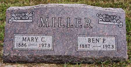 MILLER, BEN P - Turner County, South Dakota | BEN P MILLER - South Dakota Gravestone Photos