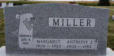 MILLER, ANTHONY J - Turner County, South Dakota | ANTHONY J MILLER - South Dakota Gravestone Photos