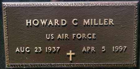 MILLER, HOWARD C (MILITARY) - Turner County, South Dakota | HOWARD C (MILITARY) MILLER - South Dakota Gravestone Photos