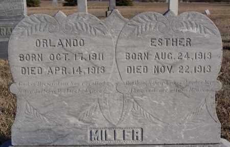MILLER, ESTHER - Turner County, South Dakota | ESTHER MILLER - South Dakota Gravestone Photos