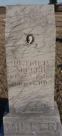 MILLER, PETER P - Turner County, South Dakota | PETER P MILLER - South Dakota Gravestone Photos