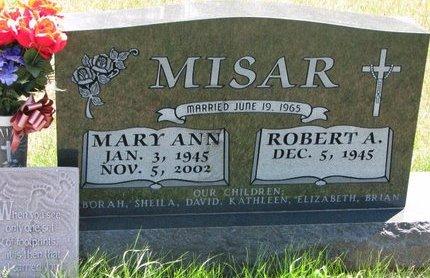 MISAR, ROBERT A. - Turner County, South Dakota | ROBERT A. MISAR - South Dakota Gravestone Photos