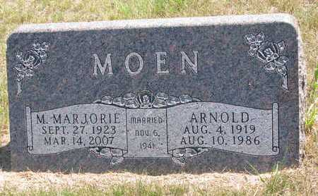 MOEN, ARNOLD - Turner County, South Dakota | ARNOLD MOEN - South Dakota Gravestone Photos