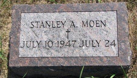 MOEN, STANLEY A. - Turner County, South Dakota | STANLEY A. MOEN - South Dakota Gravestone Photos