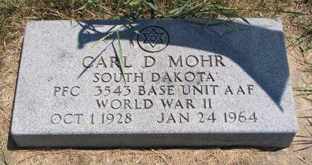 MOHR, CARL D. - Turner County, South Dakota   CARL D. MOHR - South Dakota Gravestone Photos