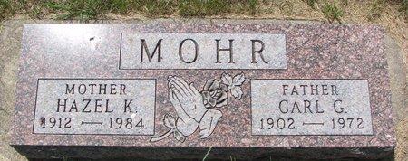 MOHR, CARL G. - Turner County, South Dakota | CARL G. MOHR - South Dakota Gravestone Photos