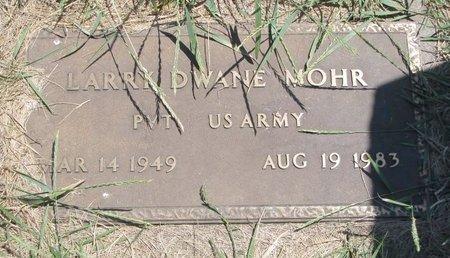 MOHR, LARRY DWANE - Turner County, South Dakota | LARRY DWANE MOHR - South Dakota Gravestone Photos