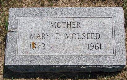 MOLSEED, MARY E. - Turner County, South Dakota   MARY E. MOLSEED - South Dakota Gravestone Photos