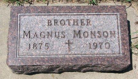 MONSON, MAGNUS - Turner County, South Dakota | MAGNUS MONSON - South Dakota Gravestone Photos