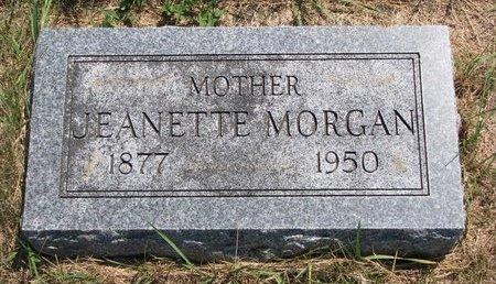DENT MORGAN, JEANETTE EMELINE - Turner County, South Dakota | JEANETTE EMELINE DENT MORGAN - South Dakota Gravestone Photos
