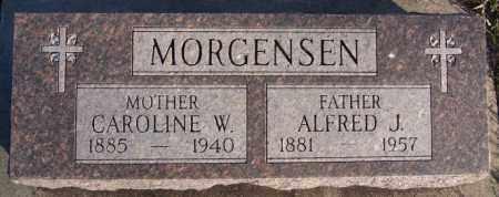 MORGENSEN, CAROLINE W - Turner County, South Dakota | CAROLINE W MORGENSEN - South Dakota Gravestone Photos