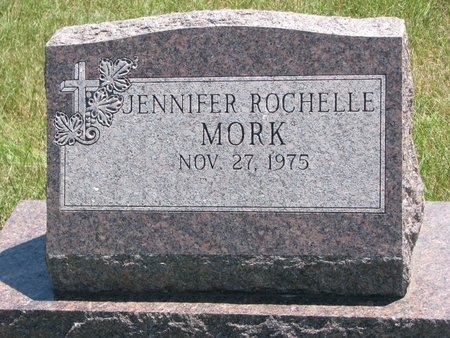 MORK, JENNIFER ROCHELLE - Turner County, South Dakota | JENNIFER ROCHELLE MORK - South Dakota Gravestone Photos