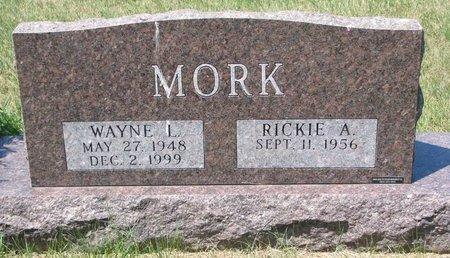 MORK, RICKIE A. - Turner County, South Dakota | RICKIE A. MORK - South Dakota Gravestone Photos