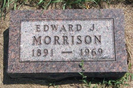 MORRISON, EDWARD J. - Turner County, South Dakota | EDWARD J. MORRISON - South Dakota Gravestone Photos
