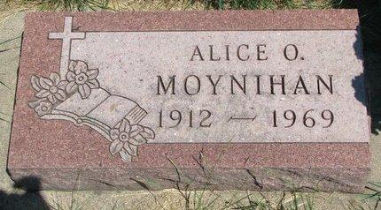 MOYNIHAN, ALICE O. - Turner County, South Dakota | ALICE O. MOYNIHAN - South Dakota Gravestone Photos