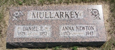 MULLARKEY, DANIEL F. - Turner County, South Dakota | DANIEL F. MULLARKEY - South Dakota Gravestone Photos