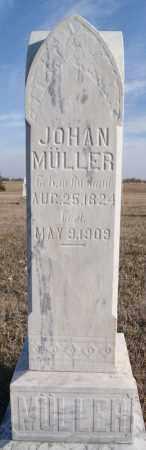 MULLER, JOHAN - Turner County, South Dakota   JOHAN MULLER - South Dakota Gravestone Photos
