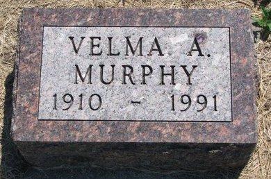 MURPHY, VELMA A. - Turner County, South Dakota | VELMA A. MURPHY - South Dakota Gravestone Photos