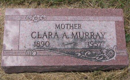 MURRAY, CLARA A. - Turner County, South Dakota   CLARA A. MURRAY - South Dakota Gravestone Photos