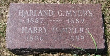 MYERS, HARRY O. - Turner County, South Dakota | HARRY O. MYERS - South Dakota Gravestone Photos