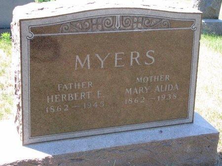 MYERS, HERBERT E. - Turner County, South Dakota | HERBERT E. MYERS - South Dakota Gravestone Photos