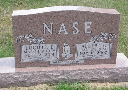 NASE, LUCILLE BERNICE - Turner County, South Dakota | LUCILLE BERNICE NASE - South Dakota Gravestone Photos