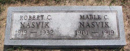NASVIK, MABLE C. - Turner County, South Dakota | MABLE C. NASVIK - South Dakota Gravestone Photos