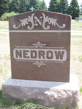 NEDROW, FAMILY - Turner County, South Dakota | FAMILY NEDROW - South Dakota Gravestone Photos