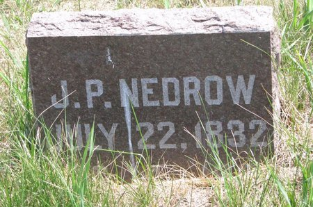 NEDROW, JOHN PENROD - Turner County, South Dakota | JOHN PENROD NEDROW - South Dakota Gravestone Photos