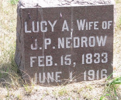 LINT NEDROW, LUCY ANN - Turner County, South Dakota | LUCY ANN LINT NEDROW - South Dakota Gravestone Photos