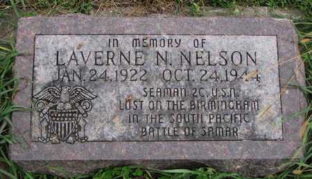 NELSON, LAVERNE N. - Turner County, South Dakota | LAVERNE N. NELSON - South Dakota Gravestone Photos