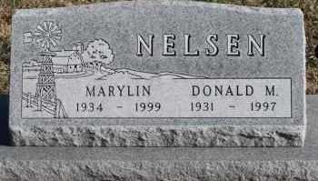 NELSEN, MARYLIN - Turner County, South Dakota | MARYLIN NELSEN - South Dakota Gravestone Photos