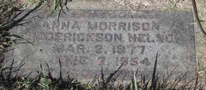 FREDERICKSON NELSON, ANNA MORRISON - Turner County, South Dakota | ANNA MORRISON FREDERICKSON NELSON - South Dakota Gravestone Photos