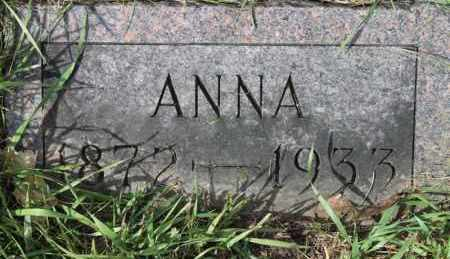 NELSON, ANNA - Turner County, South Dakota | ANNA NELSON - South Dakota Gravestone Photos