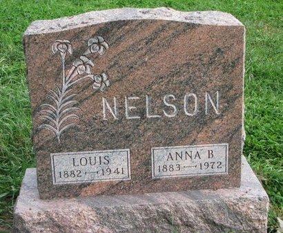 NELSON, ANNA B. - Turner County, South Dakota | ANNA B. NELSON - South Dakota Gravestone Photos
