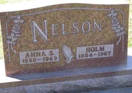 NELSON, ANNA S. - Turner County, South Dakota | ANNA S. NELSON - South Dakota Gravestone Photos