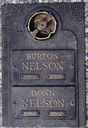 NELSON, BURTON - Turner County, South Dakota | BURTON NELSON - South Dakota Gravestone Photos