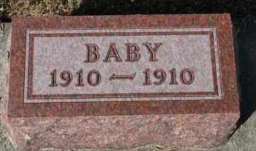 NELSON, BABY - Turner County, South Dakota   BABY NELSON - South Dakota Gravestone Photos