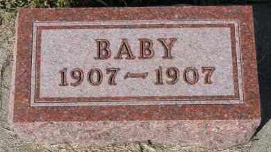 NELSON, BABY - Turner County, South Dakota | BABY NELSON - South Dakota Gravestone Photos