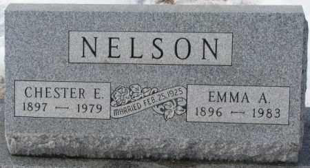 NELSON, EMMA A. - Turner County, South Dakota | EMMA A. NELSON - South Dakota Gravestone Photos